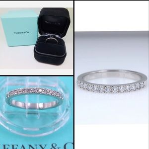 Tiffany and Co Novo Eternity Platinum Wedding Band